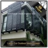 Pannelli di rivestimento ondulati perforati esterni decorativi della parete di Metall