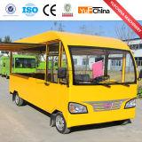 Carro móvel do petisco da vista agradável e da boa qualidade