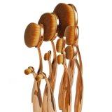 10PCSローズの金の歯ブラシの楕円形の形の構成のブラシ