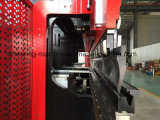 Máquina de dobra hidráulica da placa do ferro de Jsd com CNC de Delem Da52s