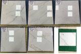 Foshan-Förderung-Fliese Karara voll polierte glasig-glänzende Marmorfliese des fußboden-weißes 60X60 und 80X80