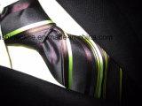 Soie tissée par jacquard de la qualité (PStrip10-13), la cravate des hommes de cravate de polyester