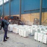 2017 lingots purs élevés 99.99% de zinc prix de 99.995% constructeurs