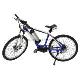 Bici eléctrica 2017 nuevo Hongdu de la C.C. de la E-Bici 250W En15194 del motor de litio de la batería de disco del freno de aluminio de la aleación del marco de la visualización sin cepillo del LCD
