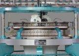 Máquina de confeção de malhas circular feita malha linha de três telas