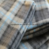 Polar Fleece Fabric avec 2 côtés Brush in Grey Checks Design
