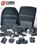 Sechseckiges Silikon-Karbid-keramisches Platten-Schlag-Gesicht 30*30*10mm