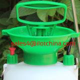 Pulvérisateur en plastique manuel de jardin de pelouse de compactage d'Ilot 5litre