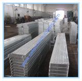 構築のための安全な耐久の足場の鋼鉄板