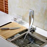 Chrome monté par paquet de tarauds de mélangeur de robinet de bassin de barre de cuisine