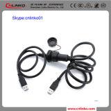 データケーブルのコネクターUSBのコネクターのプラグおよびソケットへのCnlinkoのブランドの高品質屋外USB