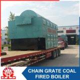 Caldeira de vapor despedida da série de Dzl carvão industrial