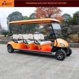6つの乗客の電気ゴルフカートの電気手段