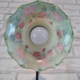 Lampes de table contemporaines claires Tiffany avec nuances de verre