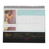Календар печатание фабрики изготовленный на заказ цветастый для сбывания