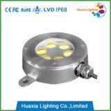 6W indicatori luminosi impermeabili della fontana di Muti-Colore LED con la funzione di DMX (HX-HUW115-6W)