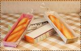 Plateau de papier fait sur commande de conditionnement des aliments pour le pain /Snack/Sandwich