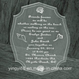 Personifizierte Acrylhochzeits-Einladungen, Anlass-Einladungen
