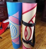 Natürliche Jutefaser-und Gummi-Rückseiten-Yoga-Matte