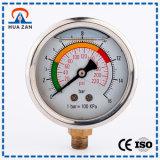 Oile Fliied Air Medida da Pressão Medidor de Pressão de Medição de Gás