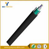 Câble optique blindé uni-mode de fibre de faisceaux desserrés du tube 6 extérieur