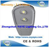 Preço do competidor de Yaye 18 luzes de luzes de rua do diodo emissor de luz da ESPIGA de 120 watts/de rua diodo emissor de luz da ESPIGA 120watt com Ce/RoHS