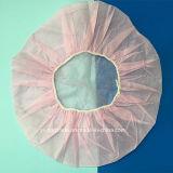 Casquillo no tejido quirúrgico disponible de la enfermera del hospital