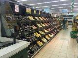 LED-Licht-Regale Slant Multideck Supermarkt-Kühlraum