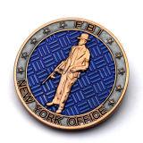 Moneda de cobre recuerdo de encargo de EE.UU. FBI