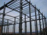 Голодает собранное здание стальной структуры