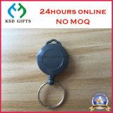 卸し売り安いカスタム電話ドームの締縄が付いているロゴによって捺印される直接バッジホールダー