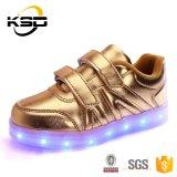 4 ألوان اثنان مزح إبزيم [لد] مسيكة يشعل فوق أحذية لأنّ أطفال [أوتدوور سبورت] حذاء