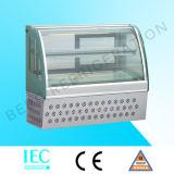 Kleiner Glaskuchen-Bildschirmanzeige-Kuchen-Schaukasten-Kühlraum