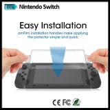 Tempered протектор экрана стеклянной пленки для вспомогательного оборудования игр пульта переключателя Nintendo