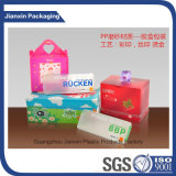 Прозрачная косметическая коробка пластичный упаковывать
