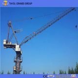 2ton Derrick / Luffing Tower Crane Qtd3020 Top Slewing Tower Crane
