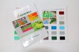 Cartão da cor para o revestimento da decoração