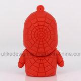 Unidad flash USB enojado del hombre de araña de PVC (UL-PVC011)