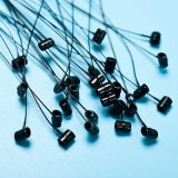 [Sinfoo] 9 pulgadas del bucle de Pin de bloqueo plástico para la etiqueta de la ropa (PL007T-9)