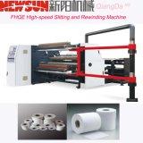 Etiqueta Fhqe-1300 de alta velocidade que corta e máquina do rebobinamento