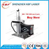 borne portative de laser de fibre d'usine de 20W 30W 50W 100W des prix employés couramment de machine