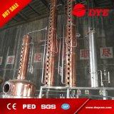 Coluna de cobre das vendas quentes/equipamento de cobre da destilação/destiladores de cobre do potenciômetro