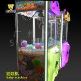 Máquina de la grúa de la garra del juguete de la máquina del regalo mini