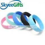 Großhandelswristband-preiswerteste Silikon-Gummi-Armbänder