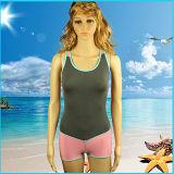Personalizado playa atractiva del bañador del traje de baño de la mujer del deporte