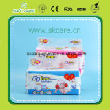 Cheapest Girl Design baby Diapers with Cloth Like film