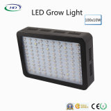 100PCS * 10W Black Housing LED Grow Light pour les usines commerciales