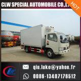 동결된 판매를 위한 트럭 찬 트럭에 의하여 냉장되는 트럭