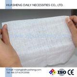 Tecido facial do algodão descartável não tecido, uso do hotel, uso do banheiro