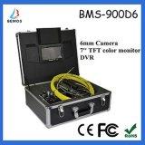 Kleine Kamera-Größen-Abwasserkanal-Kamera mit DVR 7inch TFT Farben-Monitor